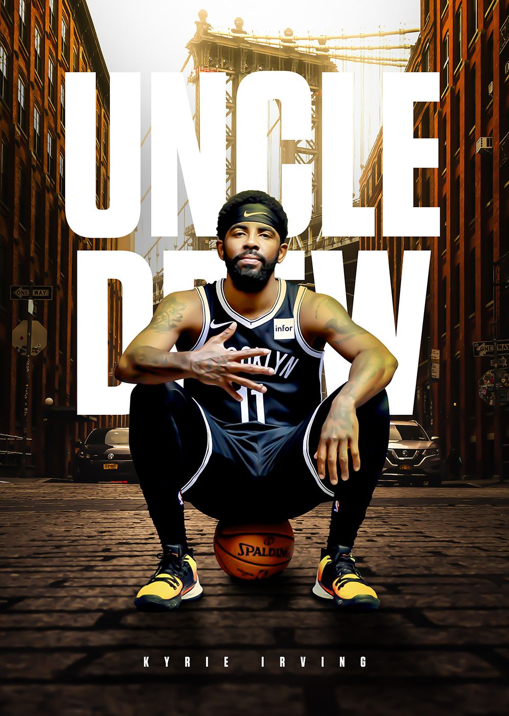 nba basketball uncle drew kyrie irving