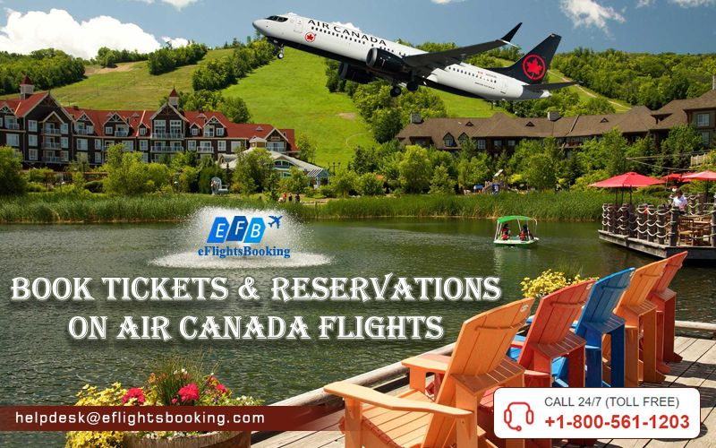 Air Canada flight booking, grab amazing offers at
