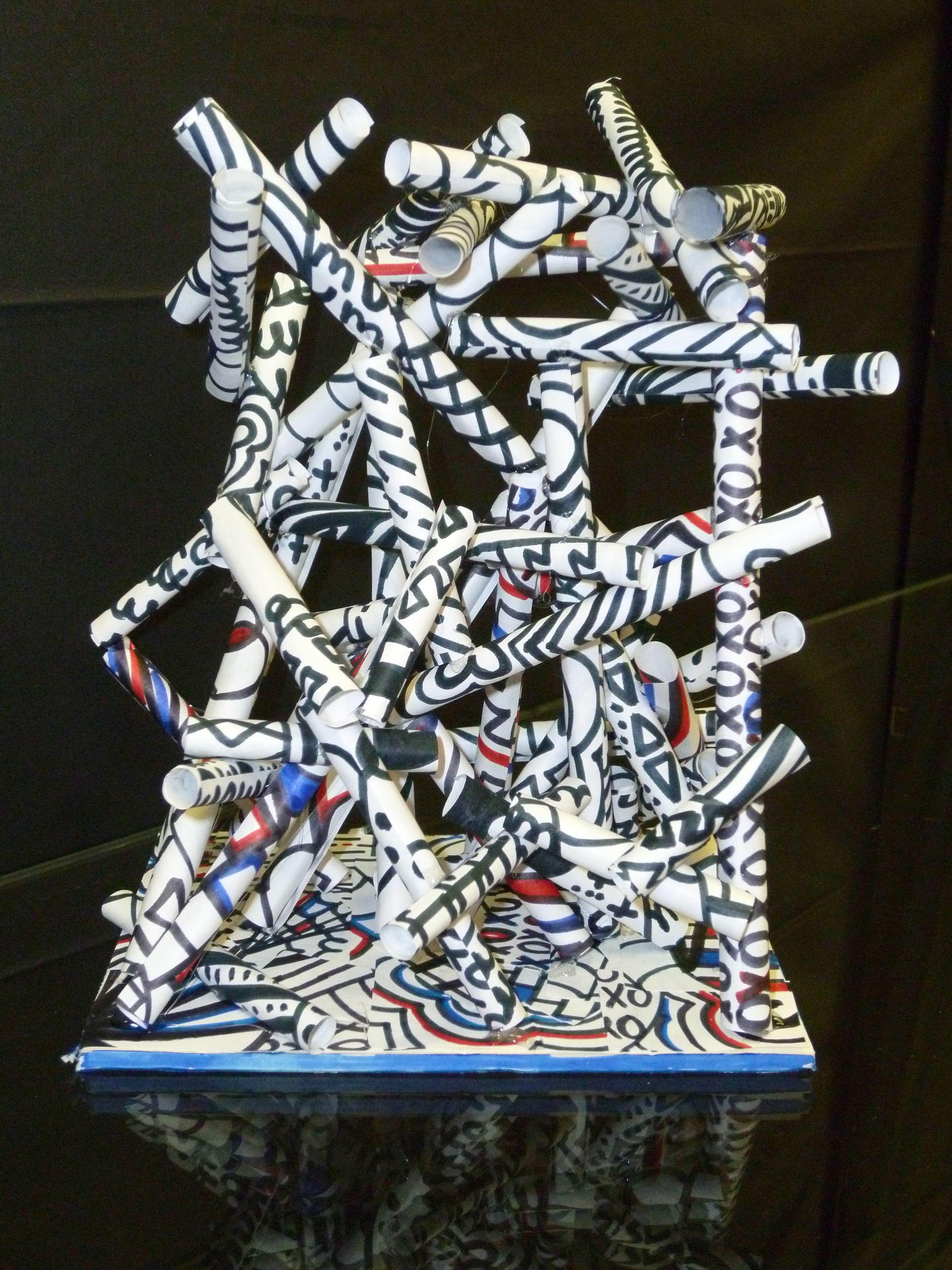 The Smartteacher Resource Debuffet Inspired Paper Sculptures