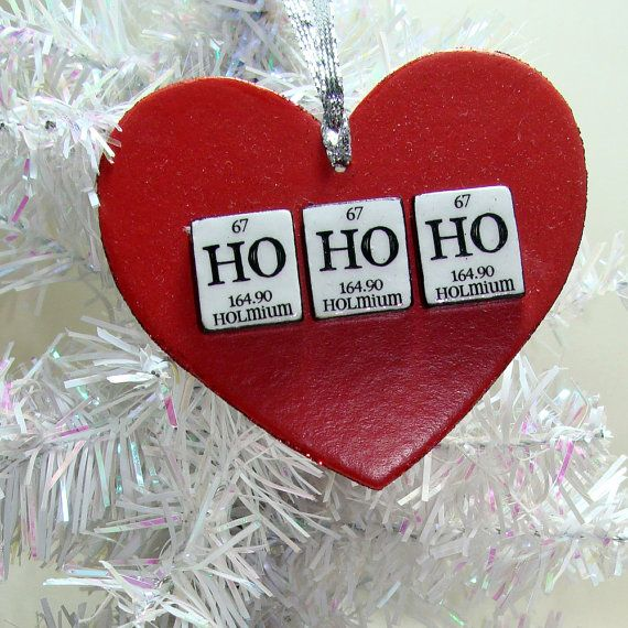 chemistry christmas ornaments ideas