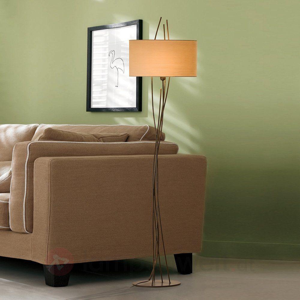 das gestell dieser stehlampe erinnert an zweige der schirm sorgt f r behagliches licht ideal. Black Bedroom Furniture Sets. Home Design Ideas