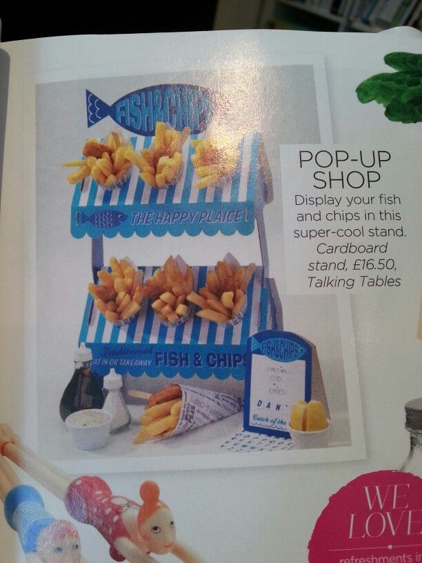 Fish n chips stand
