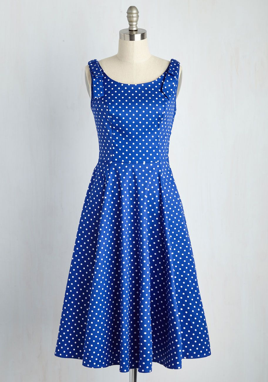 5a90026a659 Fall in Loveliness Dress - Blue