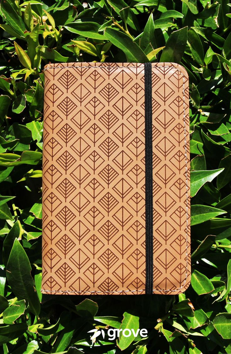 The Grove Notebook Cover Is Made In Portland Oregon From