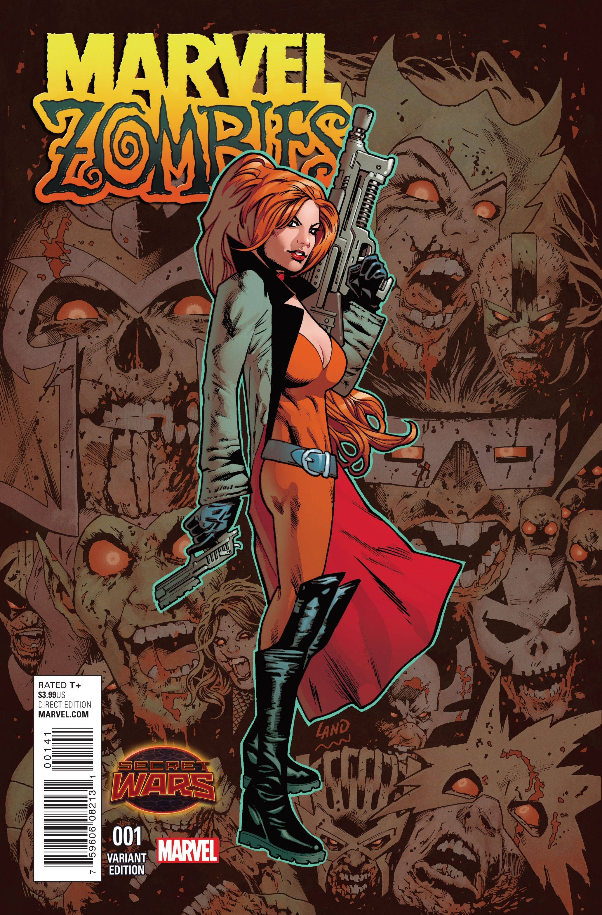 Marvel Zombies #1, by Simon Spurrier, Kev Walker and Frank D'Armata Okay,  so story time. There once was a little book called X-Men Legacy from one of  the ...