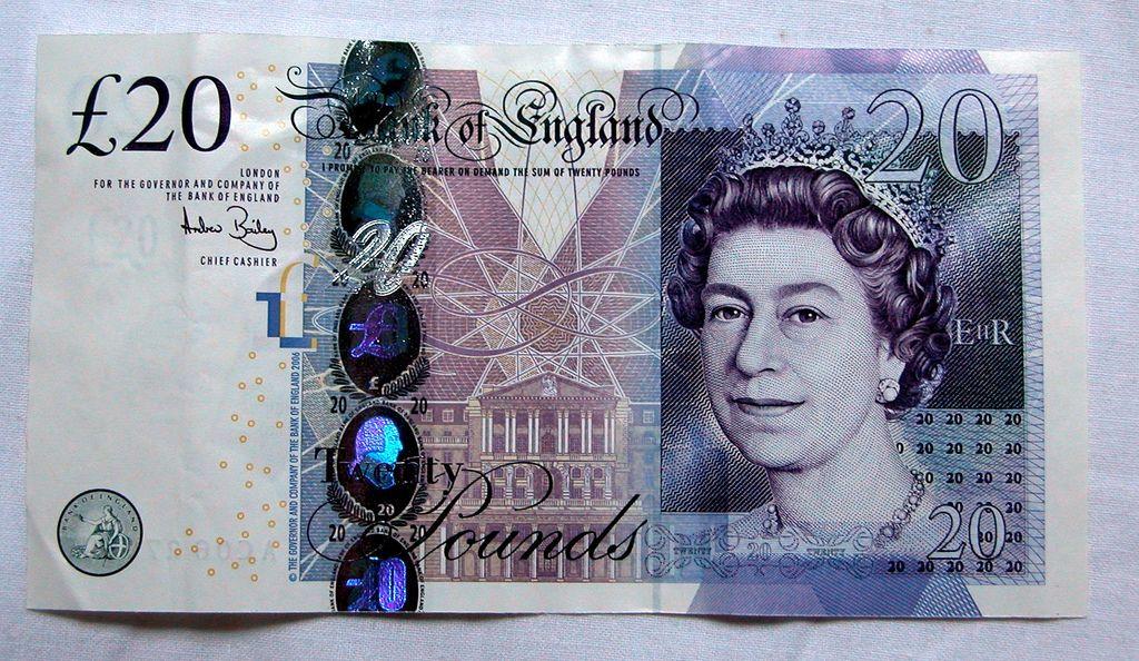Kuvahaun tulos haulle 20 pounds note