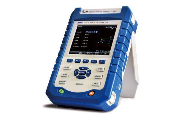 Sa2100 Power Quality Analyzer Portable Three Phase Power Quality Measurement Power Quality Analyzer Price C Spectrum Analyzer Power Data Storage