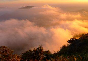 Mokoju Mountain at Mae Wong National Park in Nakhon Sawan province.