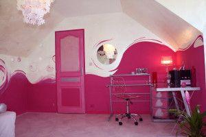 Excellent D Coration Chambre Rose Fuchsia Coup De Coeur Pinterest With Chambre  Fushia Gris