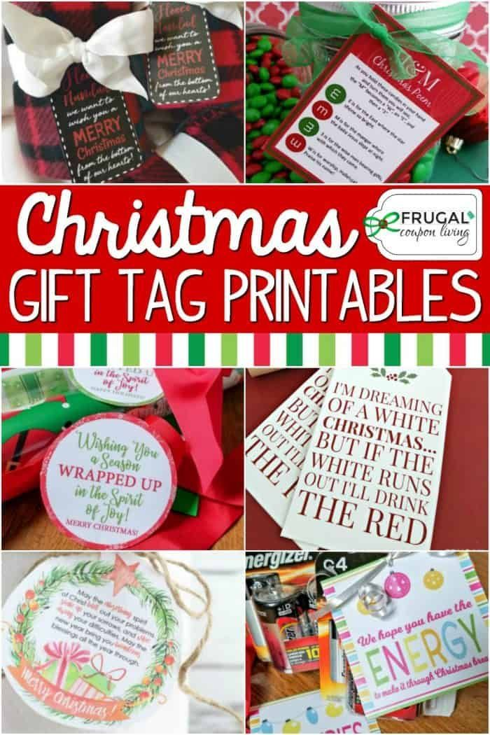 'Tis the season for giving. These Free Printable Gift Tags for Christmas will step-up your present game. Adorable personalized gift tags, gift tags for kids and adults! #FrugalCouponLiving #freeprintables #printables #freegifttags #printablegifttags #gifttags #giftwrapping #giftideas #christmasgifttag #christmasgiftideas #christmasgifttag #printablegift[