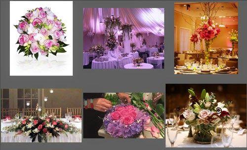 Wedding Flower Arrangement Pictures