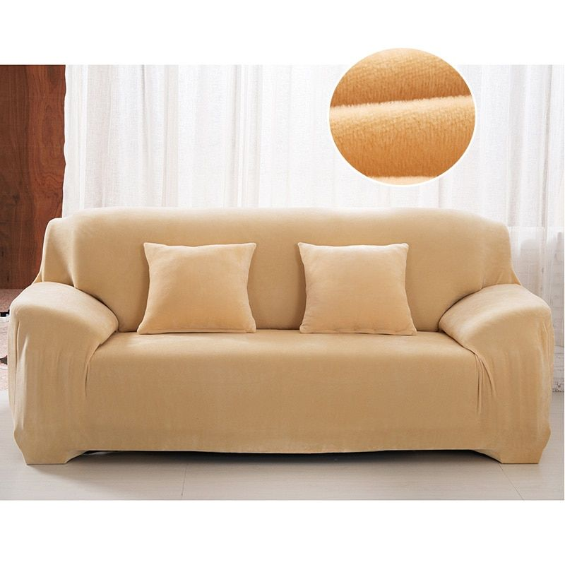 Plush Couch Covers Velvet Couch Slipcovers Plush sofa