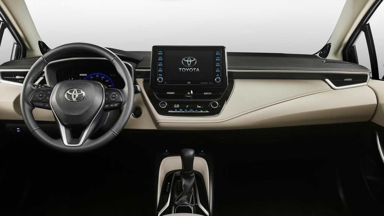 2020 Toyota Corolla Interior Toyota Corolla Toyota Corolla