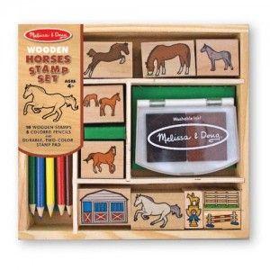 set de tampons chevaux