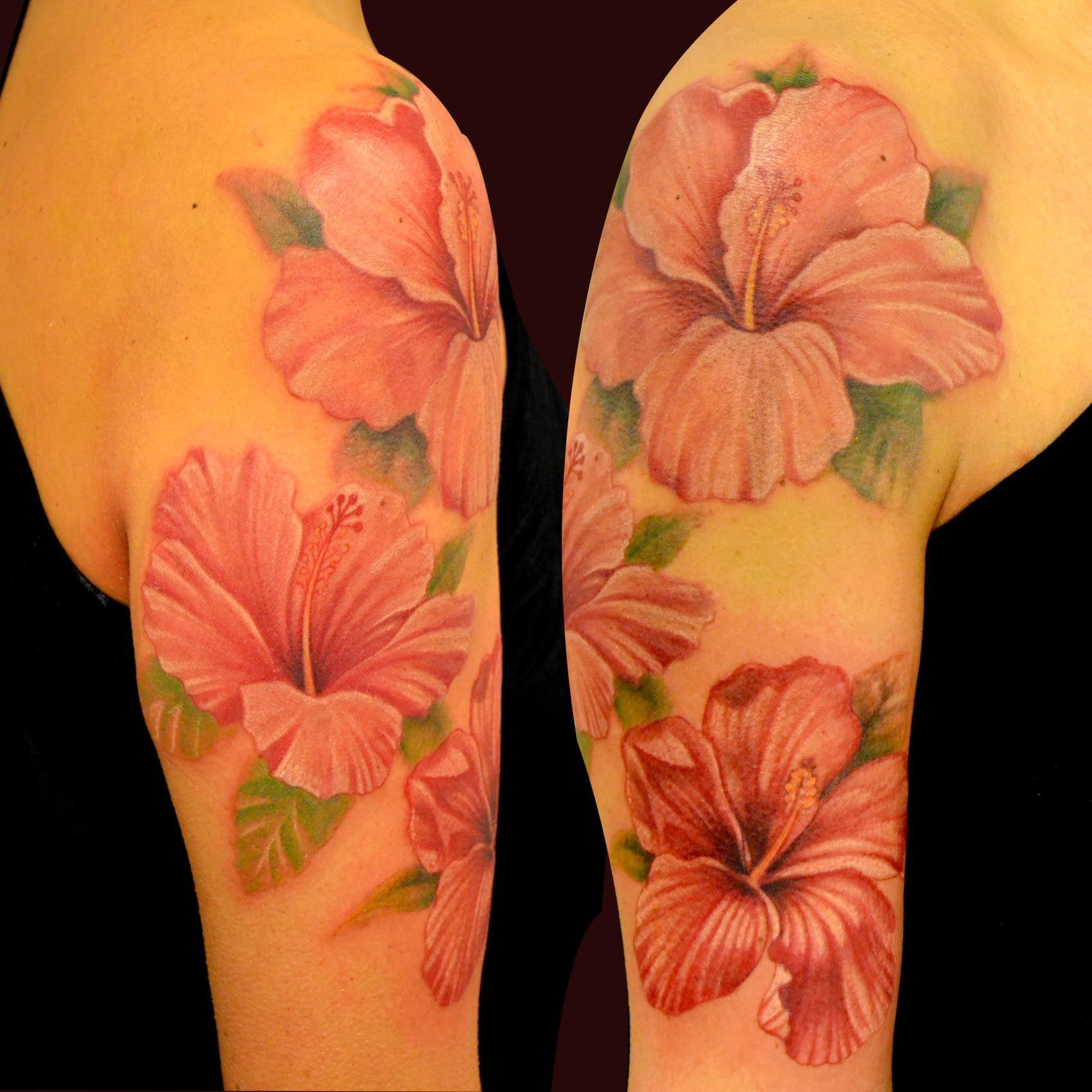Realistic flowers tattoo my stuff pinterest realistic flower realistic flowers tattoo izmirmasajfo Images