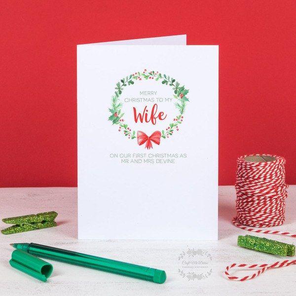Christmas card husband christmas card greeting card xmas card buy christmas card husband christmas card greeting card xmas card handmade by m4hsunfo