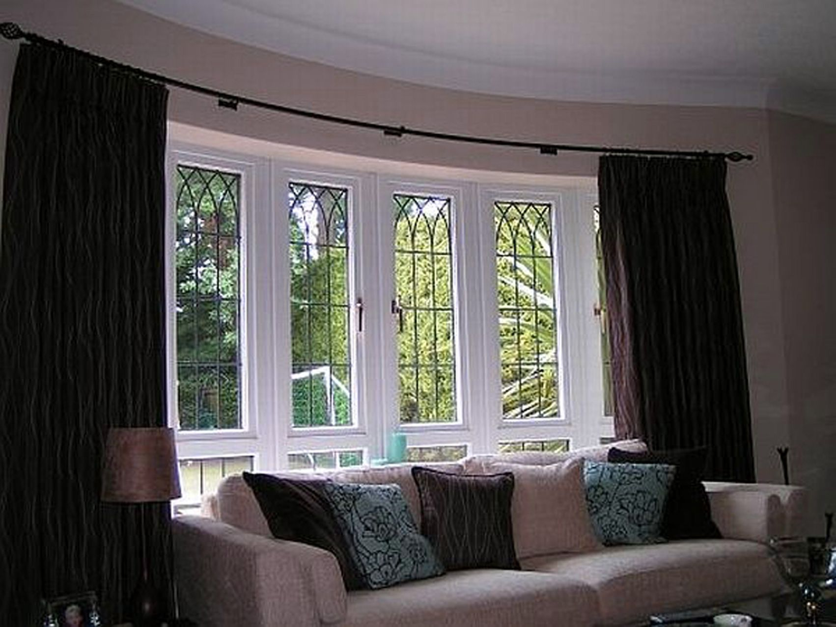 Pictures Of Curtains Next To Two Windows Ideas Yahoo