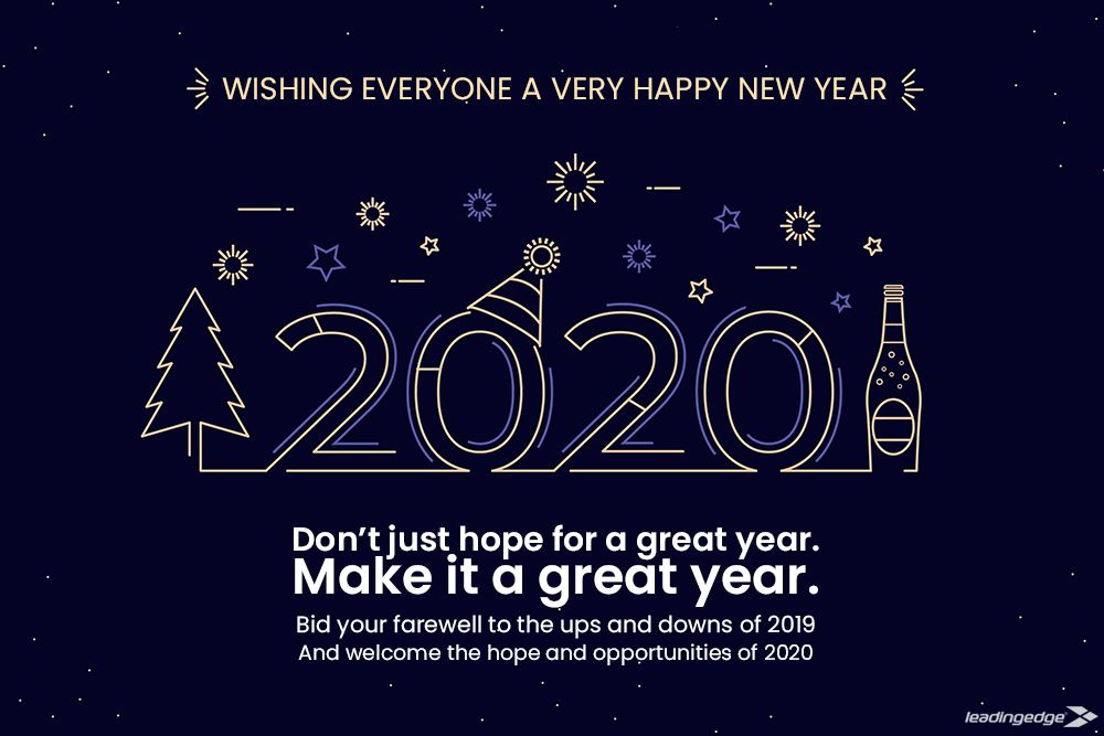 Wishing You all a very Happy New Year 2020 in 2020 Happy