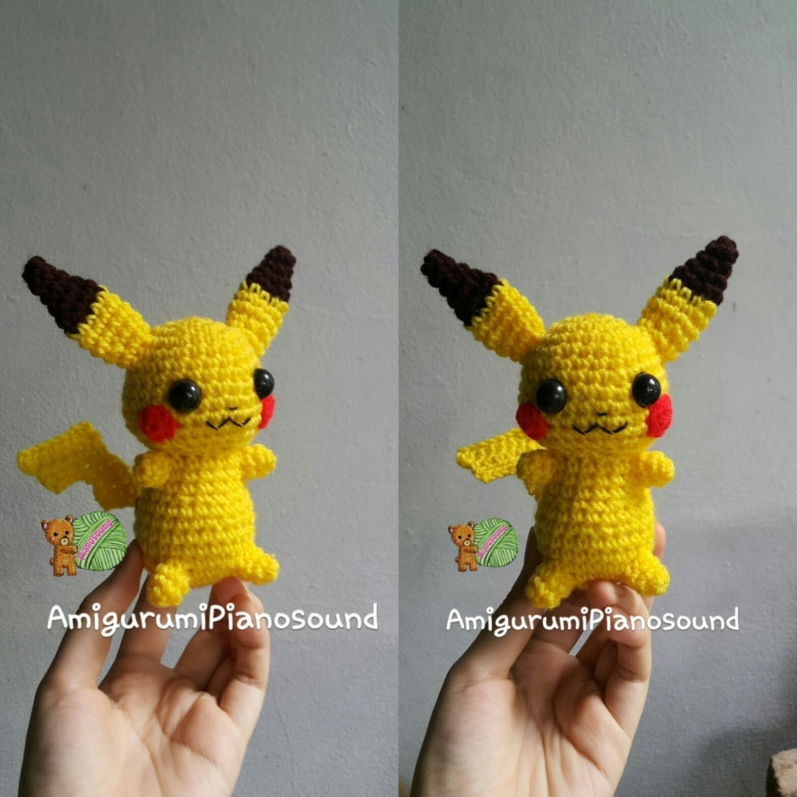 Pikachu Pokemon Crochet Tutorial | Presents For Others | Pinterest ...
