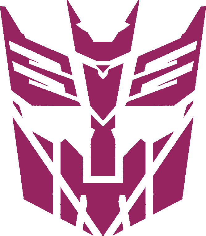 This Is My Mish Mash Of The Autobot And Decepticon Insignias From