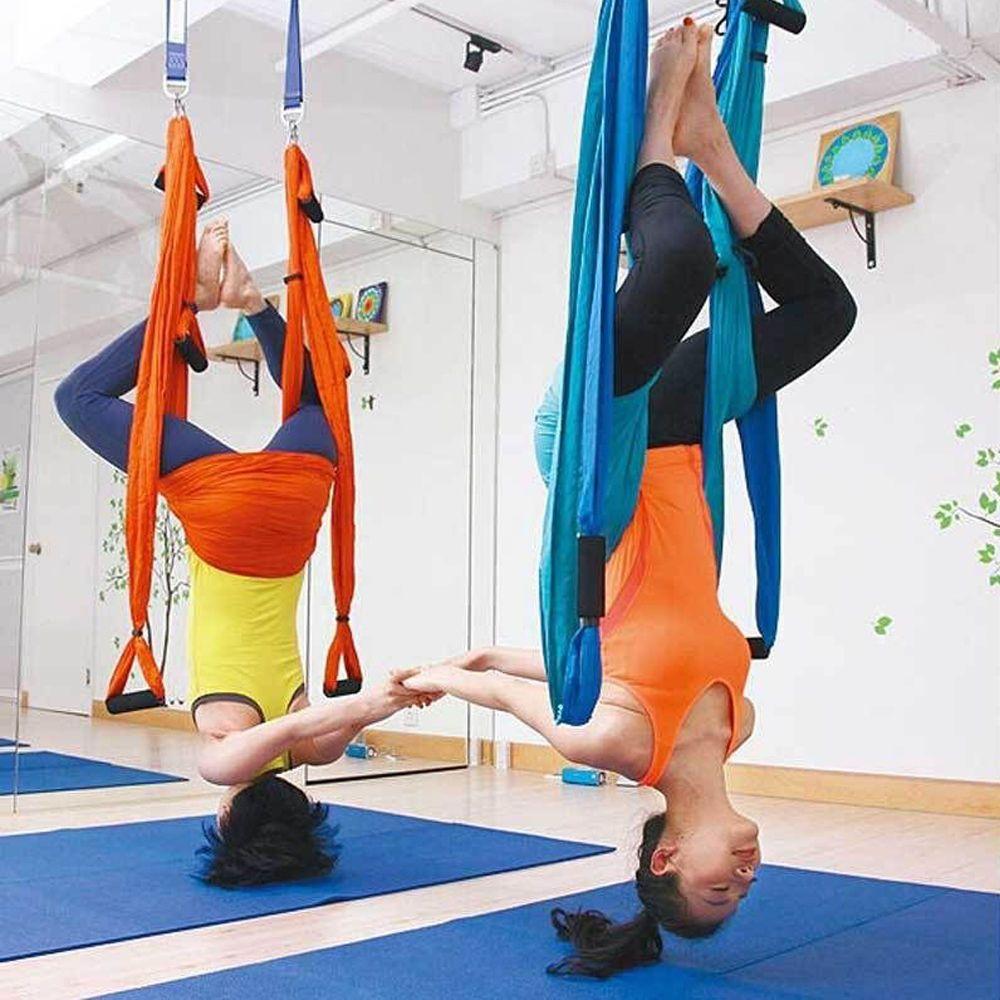 Large bearing yoga swing sling hammock trapeze for joyful yoga