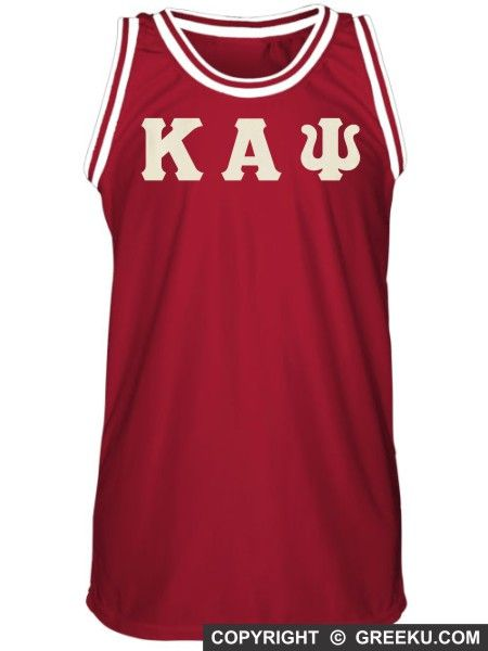 d5c7cec49e3e Kappa Alpha Psi Retro Basketball Jersey with Letters ...