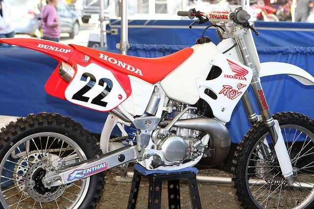 Honda Of Troy >> 1993 Erik Kehoe Honda Of Troy Cr250r Replica Honda Motocross Race