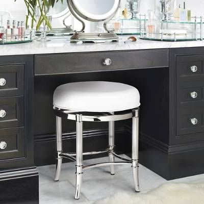 Bailey Swivel Vanity Stool Vanity Stool Stool Outdoor Lounge