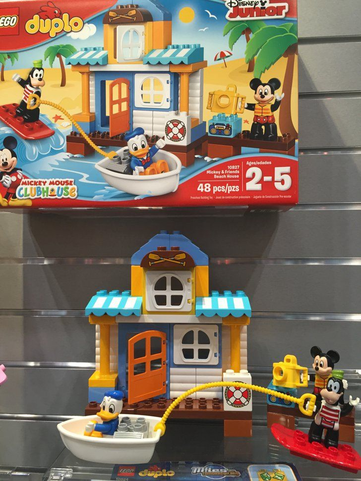 Lego Duplo Disney S Junior Mickey And Friends Beach House Mickey And Friends Lego Duplo Lego
