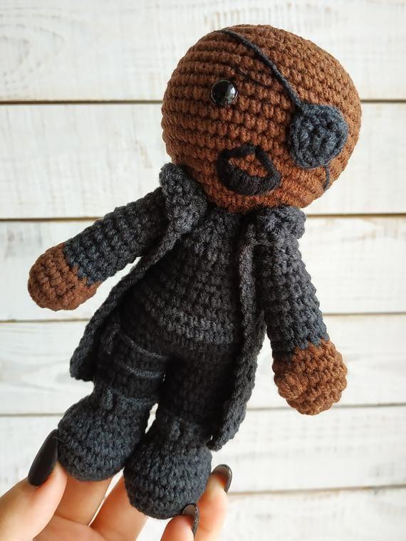 Thanos Crochet Pattern, Thanos Amigurumi Crochet Doll Pattern ... | 760x570