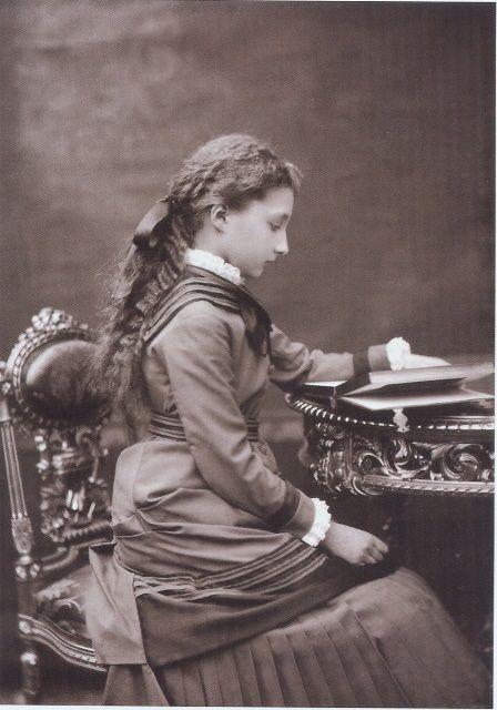 Princesse Clémentine de Belgique (1872-1955) fille du roi Léopold II et de l'archiduchesse Marie-Henriette