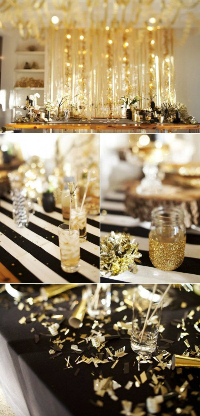 New Year Decoration Ideas Home Part - 39: Home-and-decoration-New-Year-Decoration-ideas | Celebration | Pinterest |  Decoration And Party Party