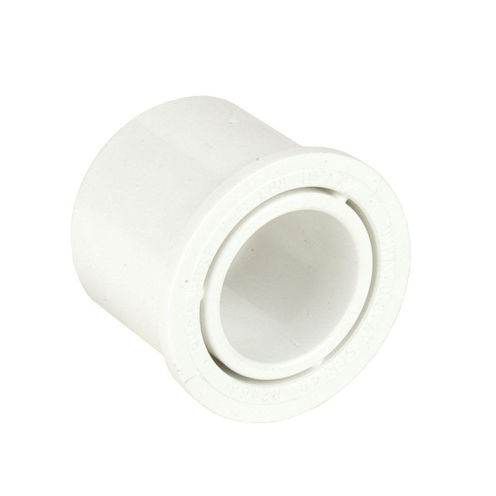 Dura 4 In X 2 1 2 In Schedule 40 Pvc Reducer Bushing Spgxs White Schedule 40 Mould Design Home Depot