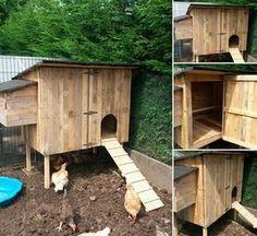 un poulailler de luxe pour pas grand chose projets essayer building a chicken coop. Black Bedroom Furniture Sets. Home Design Ideas