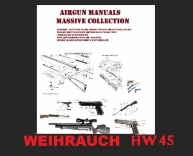 weihrauch hw45 exploded diagram for those who want to strip down rh pinterest com
