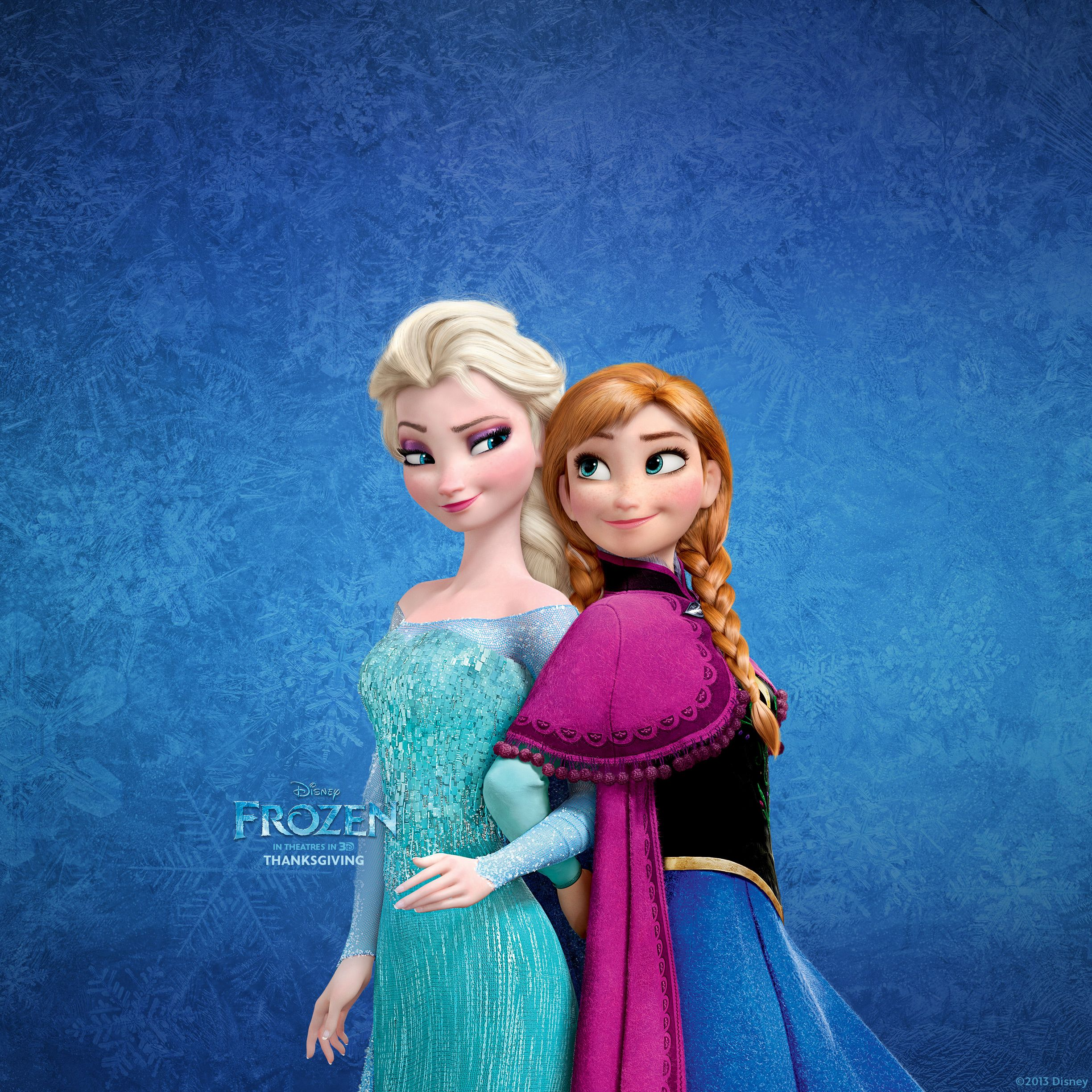 Frozen Elsa And Anna Wallpaper For Ipad