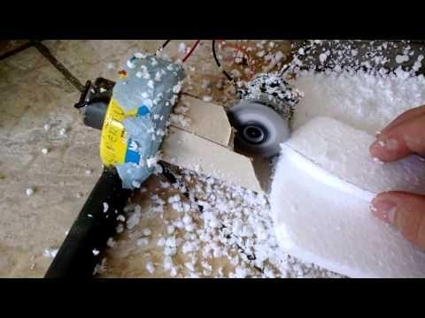 como fazer bolinhas de isopor R.T.A - YouTube
