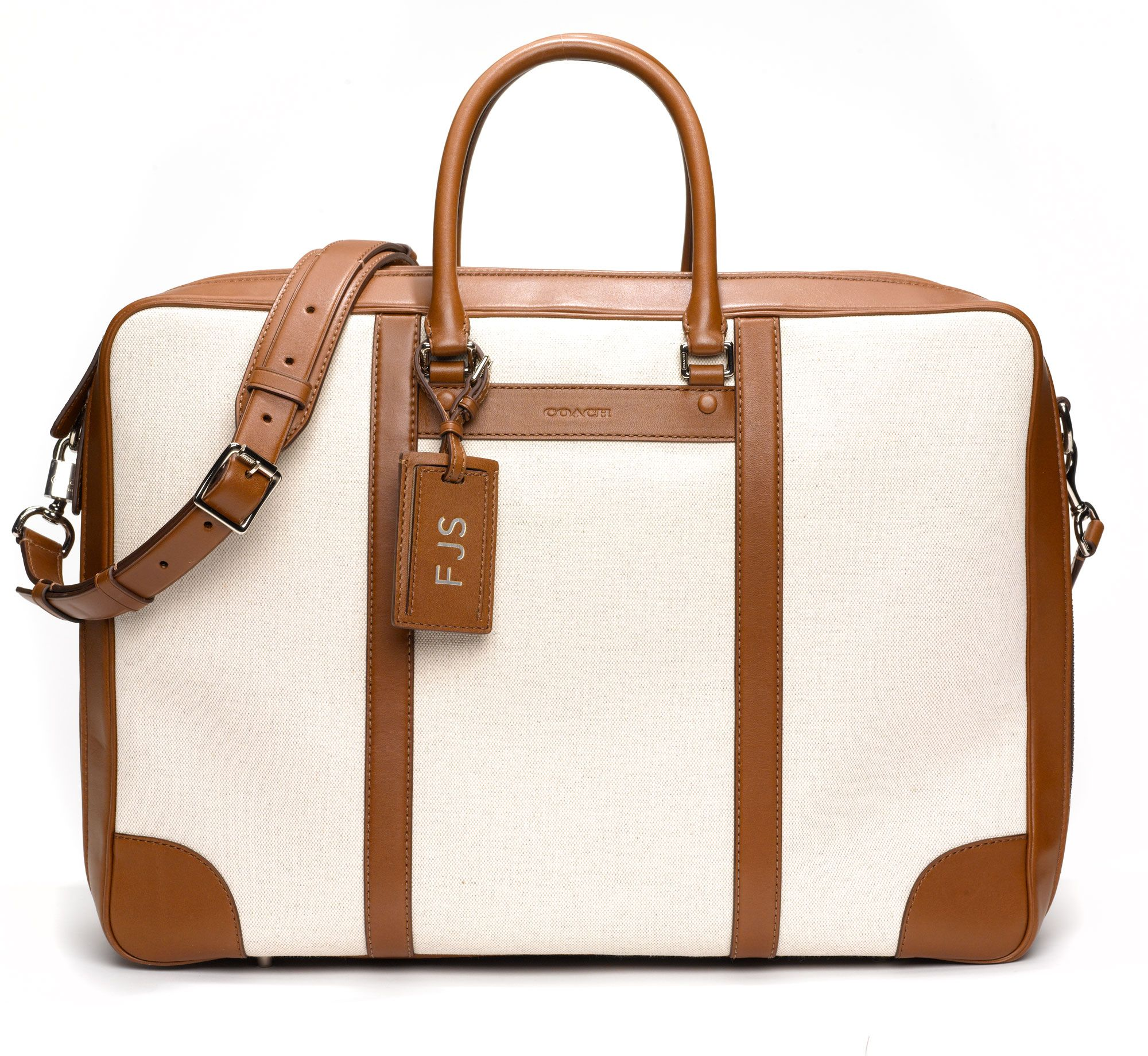 Something for Everyone - Coach suitcase, $698, coach.com.