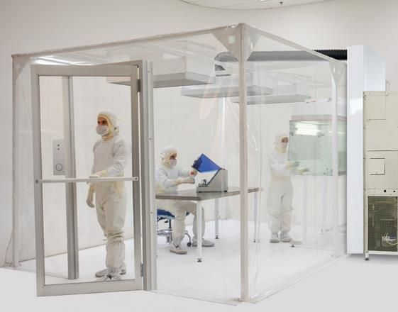 Modular Softwall Cleanroom | Cleanrooms | Pinterest