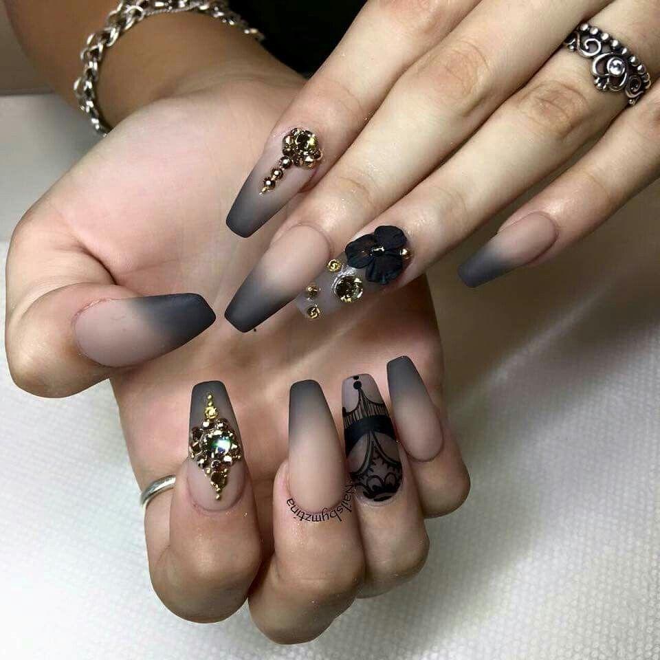 Baby Boomer Fashion Nails Matte Nails Ballerina Nails