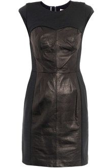 03e7f9a7b7e09d Women's Blue Leather Dress Bustier | leder | Dresses, Bustier dress ...