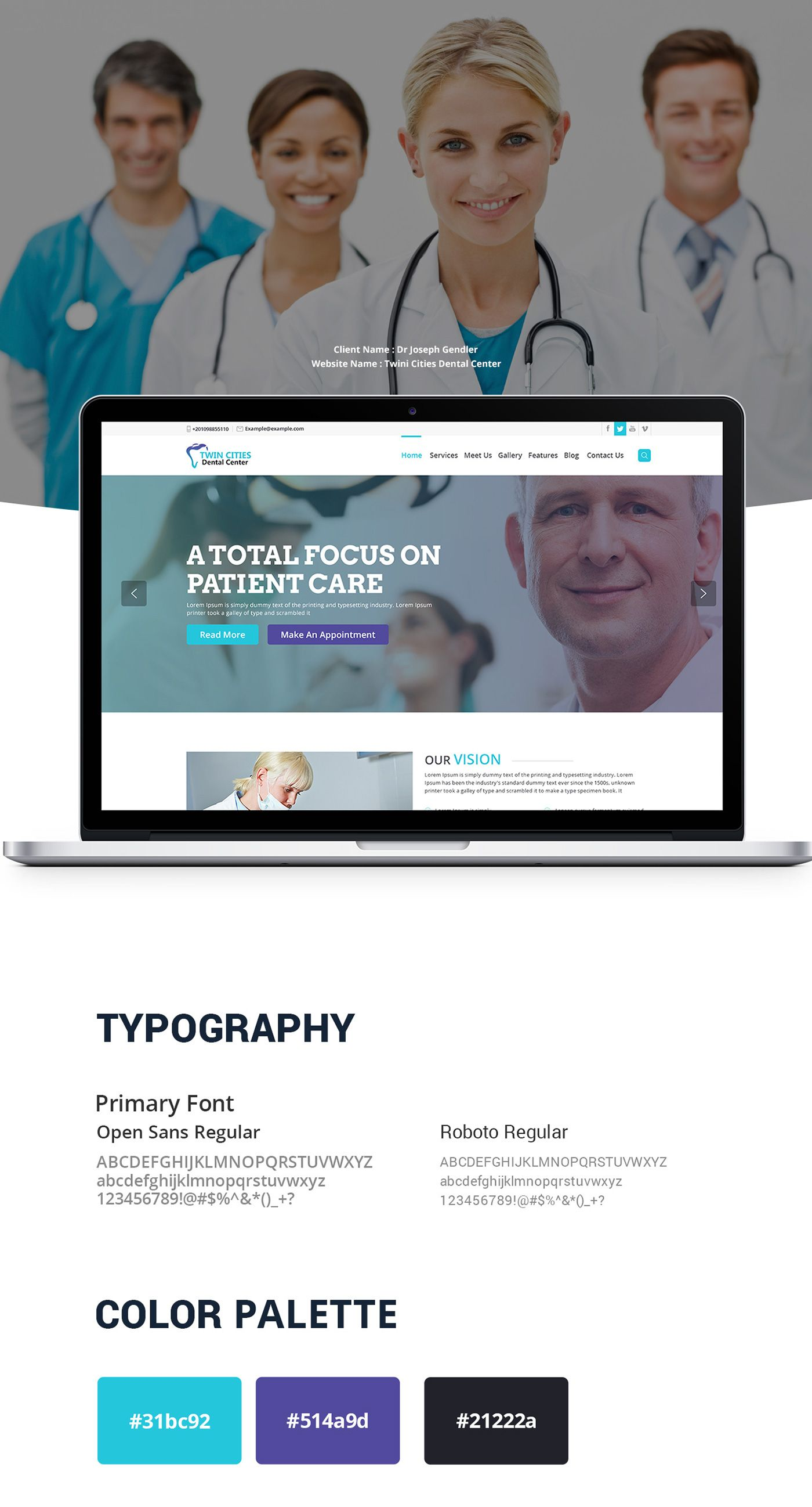 dental clinic website design | Dental Website Design | Pinterest ...