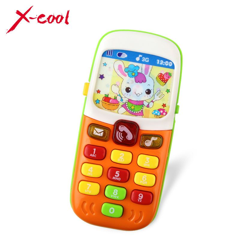 X Cool Children Electronic Mobile Phone With Sound Smart - Electronic Crib Mobile