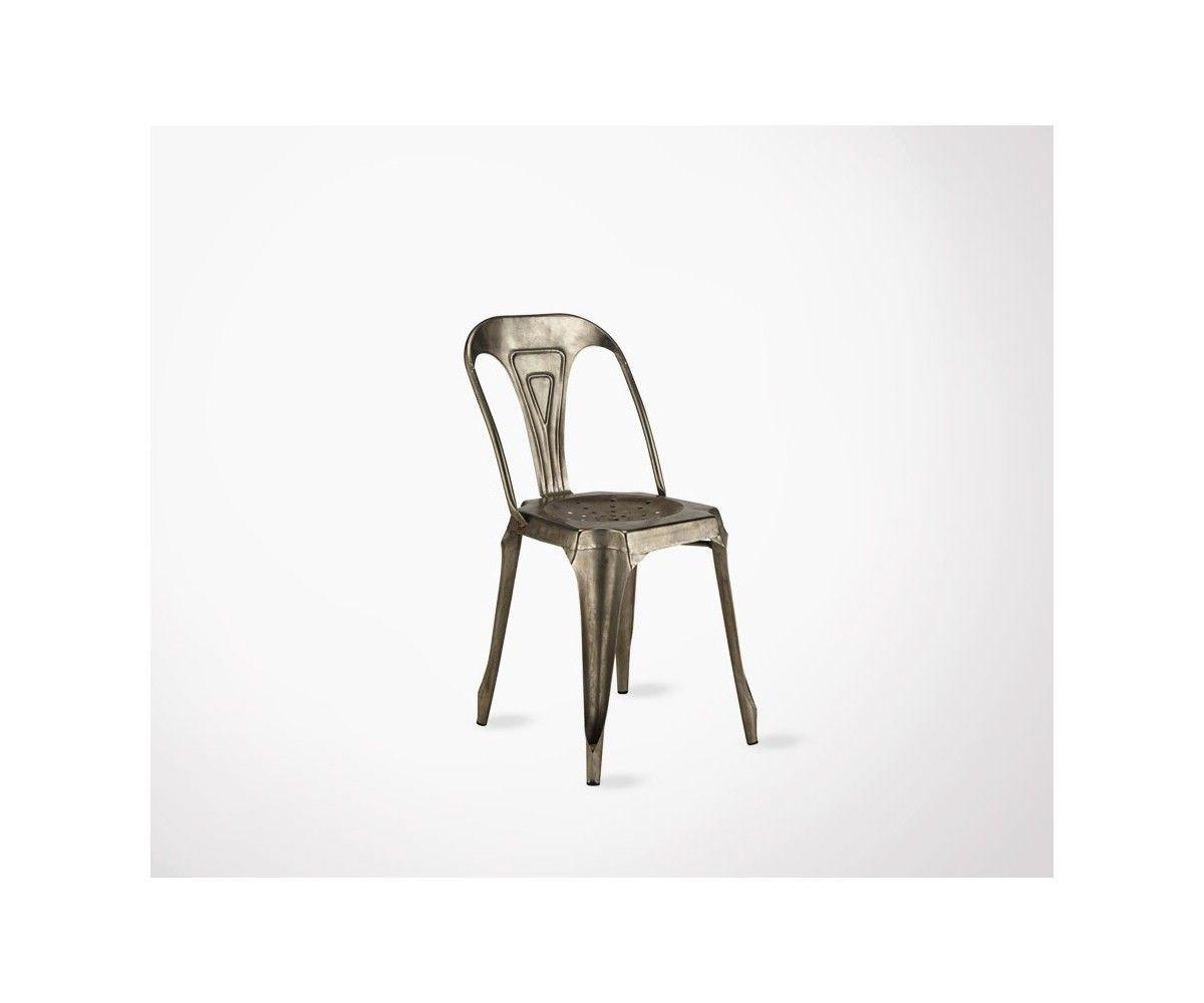Chaise Design Metal Montmartre Chaise Metal Design Montmartre