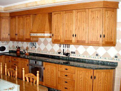 Modelo cocina r stica 4 cocinas pinterest cocinas for Ver modelos de muebles de cocina