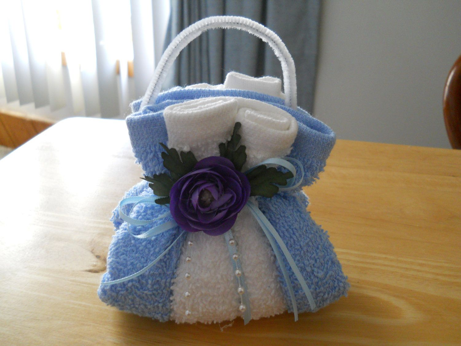 Washcloth Purse Soap Holder Party Ideas Pinterest