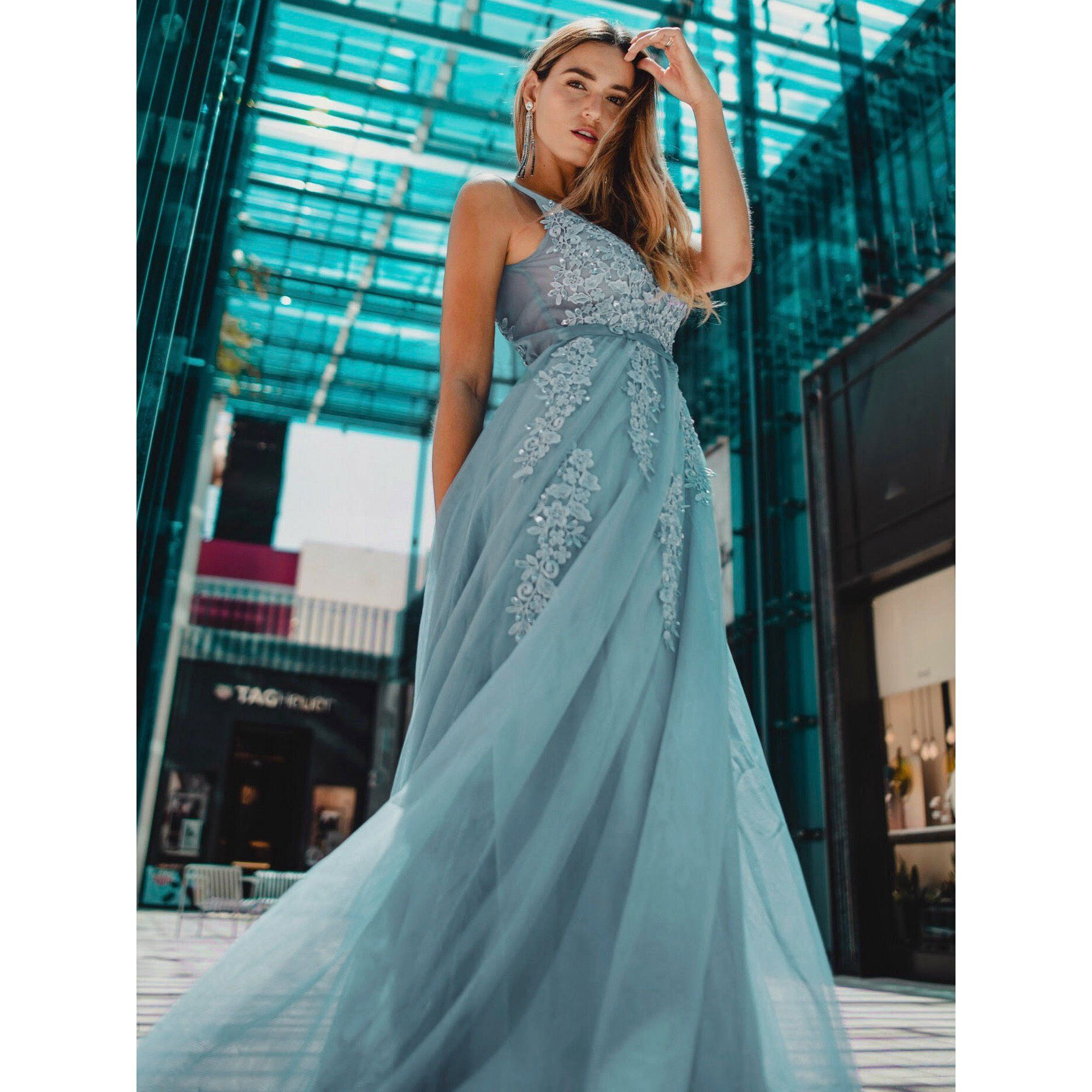 Ever Pretty Ever Pretty Womens Floral Lacey Elegant Long Formal Evening Prom Bridesmaid Dresses For Women 07544 Dusty Blue Us4 Walmart Com Bridesmaid Dresses Prom Gorgeous Prom Dresses Evening Dresses Long [ 2000 x 2000 Pixel ]