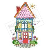Tall House - Digital Stamp