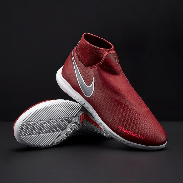 32f15ad9f Nike Phantom VSN Academy DF IC - Team Red/Metallic Dark Grey/Bright ...