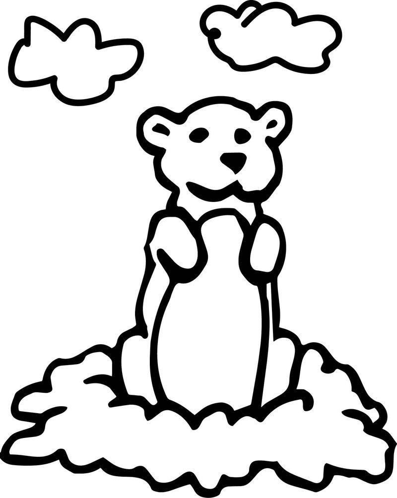 Basic Cartoon Groundhog Day Coloring Page Groundhog Day Cartoon Coloring Pages Leaf Coloring Page [ 1004 x 800 Pixel ]